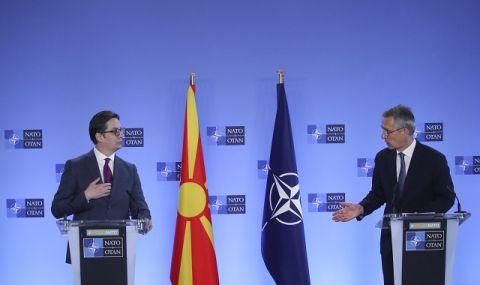 Столтенберг: Разногласията между София и Скопие могат да се изгладят в рамките на НАТО
