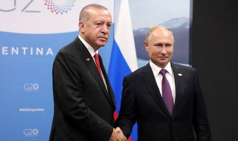 Ердоган към Путин: Благодаря за помощта! - 1