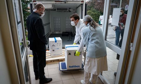 Словакия получи от Франция 15 000 ваксини