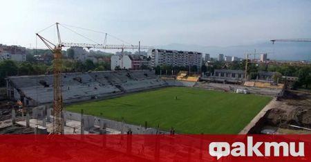Строящият се в момента стадион