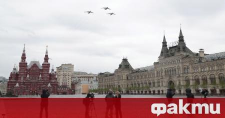 Руското правителство започна подготовка за предстоящия парад на победата, съобщи