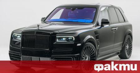 Rolls-Royce е автомобил който може да бъде персонализиран по стотици,