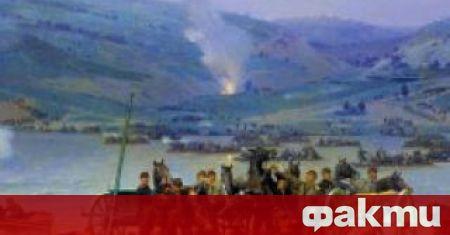 На 15.06.1877 г. руската армия форсира успешно Дунава при Свищов
