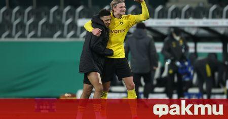 Снимка: Борусия Дортмунд е на полуфинал за Купата на Германия