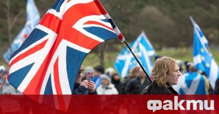 Мнозинството на шотландците подкрепят независимост от Великобритания. Това показва ново