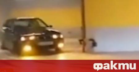 Опасна ситуация в софийски мол. Нелегални автомобилни дрифтове бяха заснети