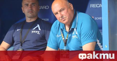 Георги Тодоров е останал крайно недоволен от поведението на отбора