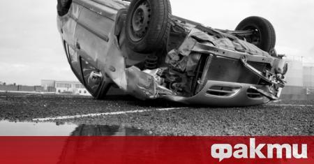 Пътен инцидент е станал край Хисаря. В следобедните часове вчера