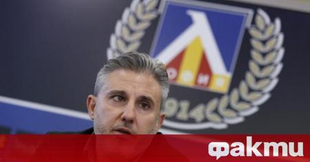 Изпълнителният директор на Левски Павел Колев призна, че финансовите проблеми