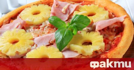 Пицата с ананас или т. нар.