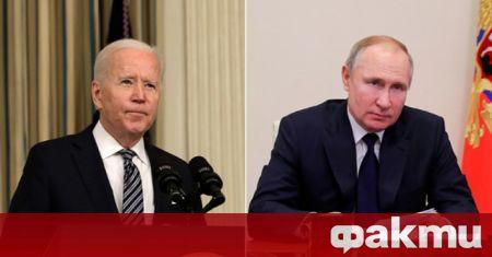 Aмериканският президент Джо Байдън е предложил на руския си колега