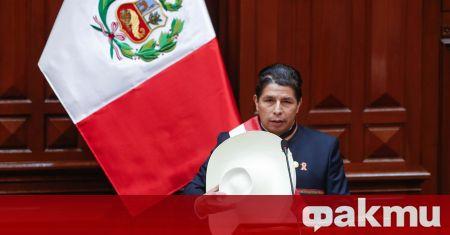 Новият държавен глава на Перу встъпи в поста, съобщи ТАСС.
