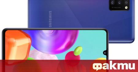 Samsung Electronics представи на европейския пазар новия Galaxy A41. С