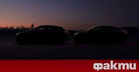 Audi ще представи два нови модела през следващата седмица,това стана