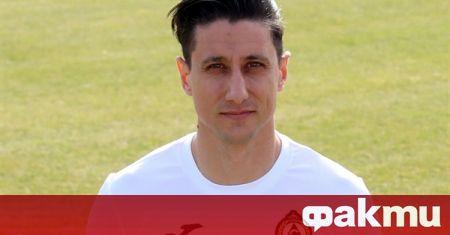 Славия официално представи Михаил Александров като свой футболист. По-рано днес