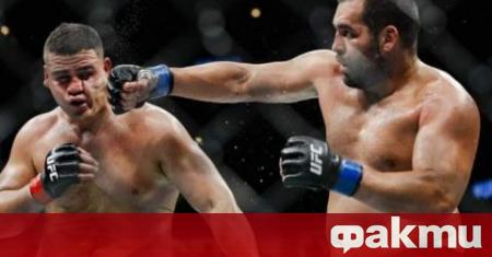 Единственият ни боец в UFC Благой Иванов изпадна извън топ