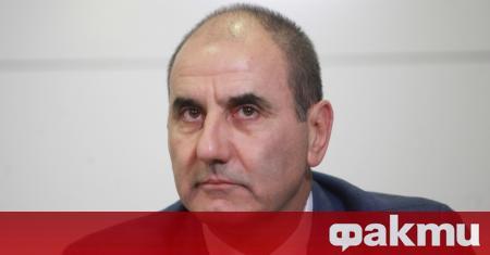 Председателят на Републиканци за България Цветан Цветанов и зам.-председателят Павел