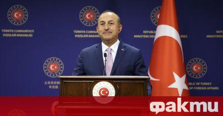 Турският външен министър приветства началото на нова ера в партньорството