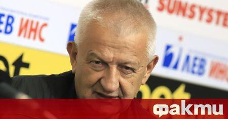 Президентът на Локомотив Пловдив Христо Крушарски сподели, че е спокоен