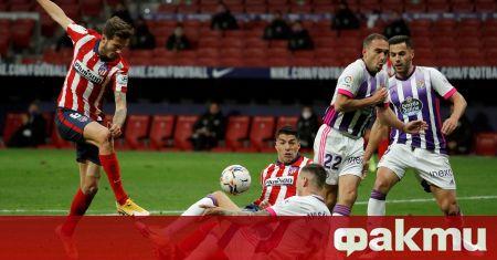 Атлетико Мадрид излезе начело в Ла Лига, след като победи