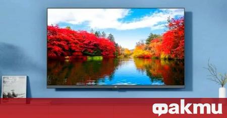 Китайската компания Xiaomi представи нов модел от линията Mi TV
