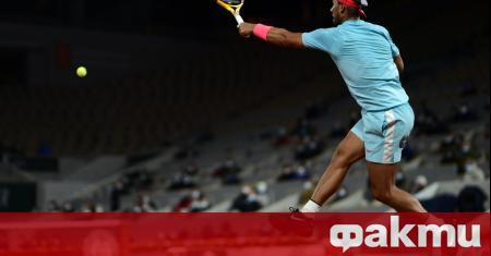 Световният номер 2 в тениса Рафаел Надал сложи край на