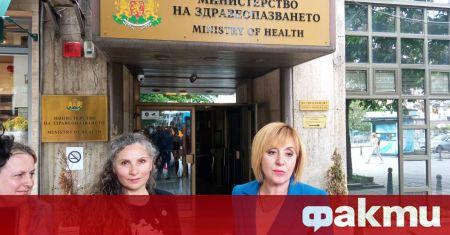 Мая Манолова поиска служебните министри на земеделието Христо Бозуков и