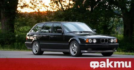 Един екземпляр от комби версията на BMW M5 (E34) от