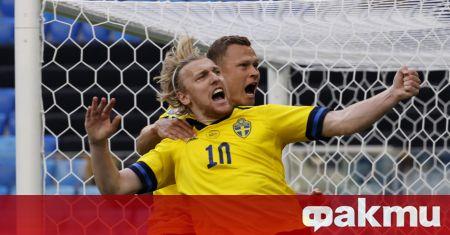 Швеция победи с 1:0 Словакия в мач от втория кръг