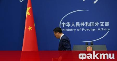 Говорителят на китайското външно министерство Жао Лиджиян заяви, че не