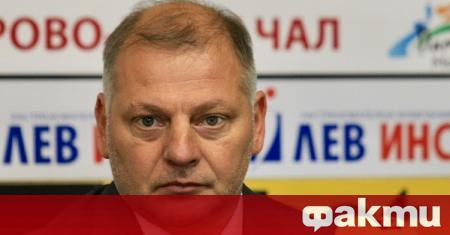 Старши треньорът на Етър - Петко Петков, поздрави тима си