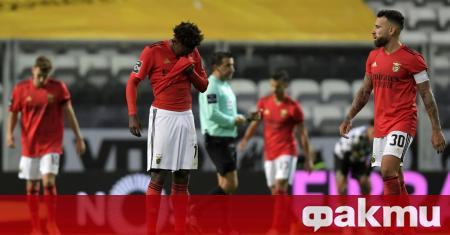 Отборът на Бенфика загуби с 0:3 като гост от Боависта