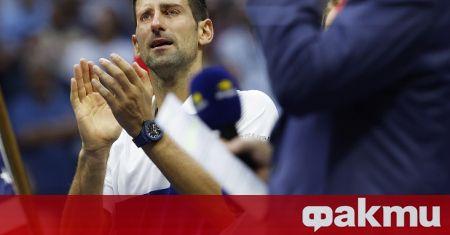 След загубения финал на US Open Новак Джокович реши да