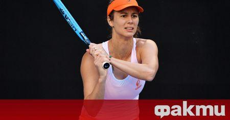 Най-добрата ни тенисистка Цветана Пиронкова не е излизала на корта