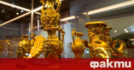 Панагюрското златно съкровище може да бъде видяно в Държавния културен