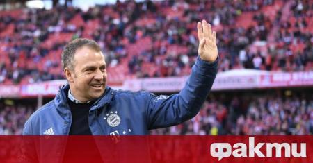 Треньорът на Байерн Ханзи Флик стана вторият наставник в историята