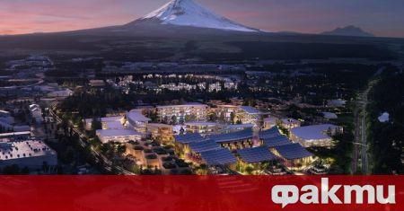 В Японския град Сусон, който е разположен подножието на най-известната