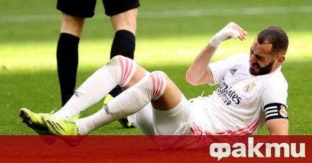 Френският нападател Карим Бензема не само спаси Реал от загуба