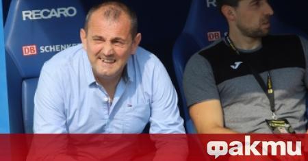 Бившият треньор на Славия Златомир Загорчич, е вариант за селекционер