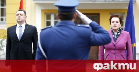 Сръбският министър на отбраната Александър Вулин отправи благодарност към Русия,