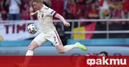 Белгия стигна до обрат с 2:1 срещу Дания в двубой