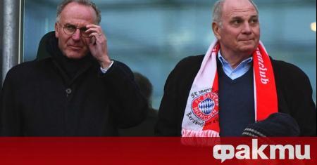 Карл-Хайнц Румениге отхвърли предложението заплатите на футболистите на Байерн (Мюнхен)