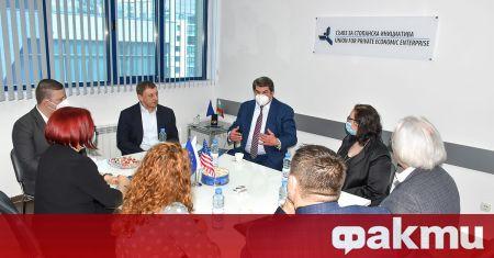 На среща на 21 февруари 2021 г. гостуващият в България