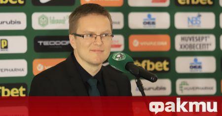 Старши треньорът на Лудогорец Валдас Дамбраускас призна, че очаква различен