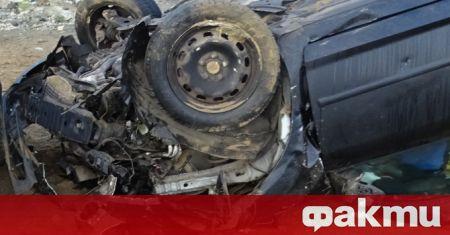 Тежък пътен инцидент е станал на пътя между Враца и