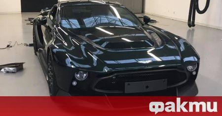 Новият Aston Martin Victor е заснет в Белгия, а любопитното