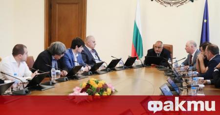 Министър-председателят Бойко Борисов се срещна с представители на браншовите организации