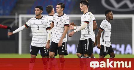Германия спечели с минималното 1:0 домакинството си на Чехия в