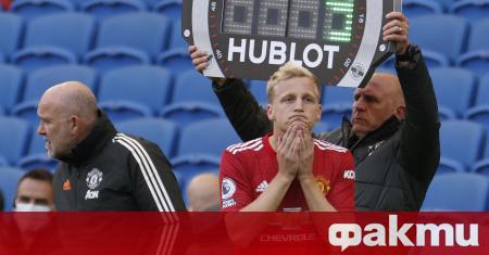 Халфът на Манчестър Юнайтед Дони ван де Беек призна, че