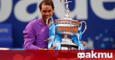 Испанската суперзвезда в мъжкия тенис, който вчера спечели титлата на
